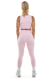 Baby Pink High Waist Leggings