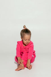 Dark Pink Mini Tracksuit