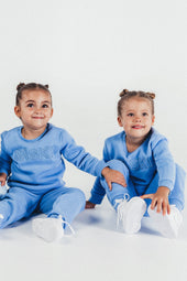Mid Blue Mini Tracksuit