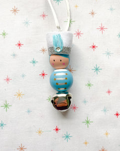 Blue | Toy Solider Necklace