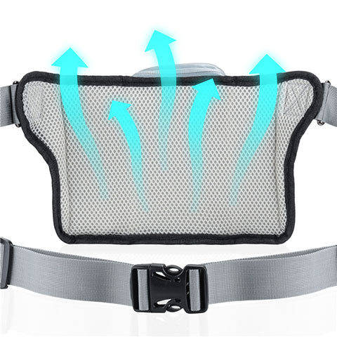 breathable mesh backing makes the dog running leash comfortable to wear