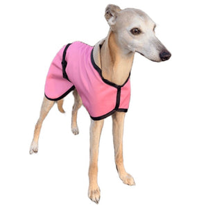 Baby Pink Summer Whippet Coat. Waterproof, lightweight, trendy whippet.