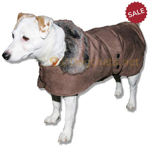 jack russell dog coat brown chelsea fashion jacket
