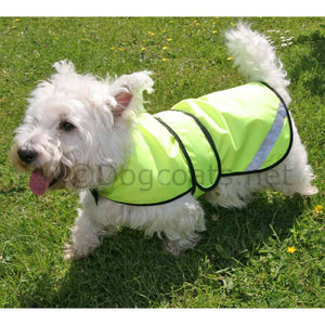 dog coats for westies reflective safety jacket waterproof | DryDogs.co.uk