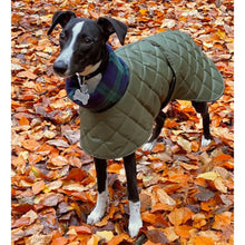 Load image into Gallery viewer, best coats for whippets. Quilted waterproof winter jacket