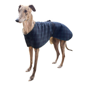 Greyhound kennel coat for indoor wear at bedtime. pyjamas