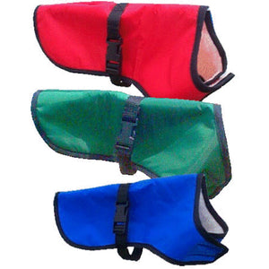 dog jackets in various colours suitable for all weathers summer or winter