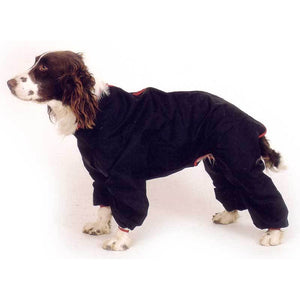 dog coat with legs on a spaniel