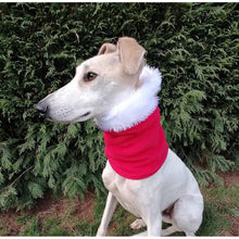 Load image into Gallery viewer, Greyhound/Lurcher Christmas Snood