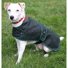 Load image into Gallery viewer, Cosipet hunter wax dog coat green waterproof - barbour dog jacket