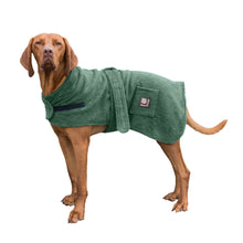 Load image into Gallery viewer, dog towel robe. dry your dog and keep them cosy and warm