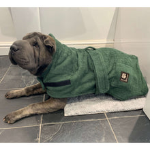 Load image into Gallery viewer, bathtime shar pei. shay getting dry