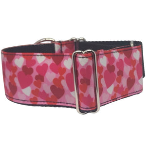 Martingale Collar - Heart - 2in Wide