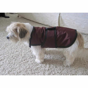 waterproof dog coat with chest protection uk made by Kellings Dog Coats.