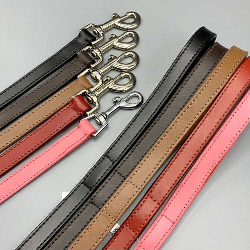 leather dog leads for all breeds including greyhound borzoi saluki whippet iggy