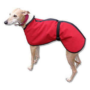 microfiber whippet coat. warm dry whippet clothes for everyday use