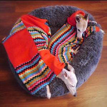 Load image into Gallery viewer, matching dog coats and bedding. hand made to order just for your whippet greyound dog