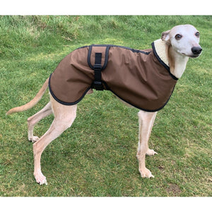waterproof whippet coat uk