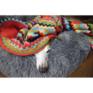 bedding for greyhounds, whippets and italian greyhound lurchers. Double thick polar fleece