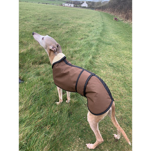 windproof waterproof warm cosy barbour whippet coat wax fabric