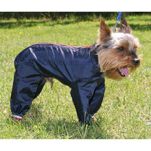 Load image into Gallery viewer, dog coat with underbelly protection - yorkshire terrier