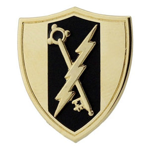 Electronic Warfare Brite Pin-on - Insignia Depot