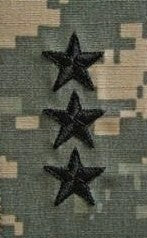 O9 Lieutenant General ACU Sew-on (pair) - Insignia Depot