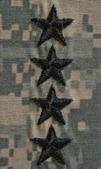 O10 General ACU Sew-on (pair) - Insignia Depot