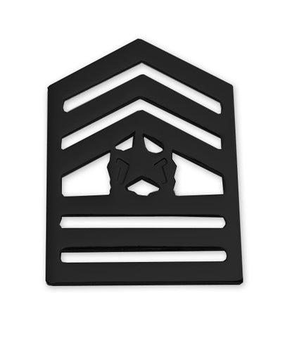 E9-2 ROTC Command Sergeant Major Brite Rank Pin-on - Insignia Depot