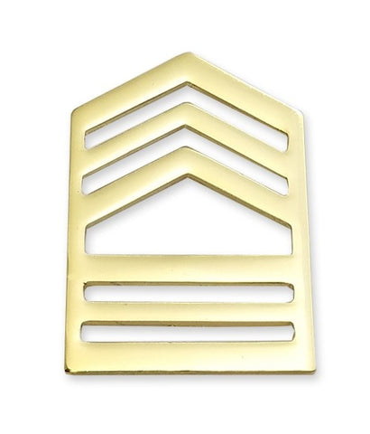 E8-1 ROTC Master Sergeant Brite Rank Pin-on - Insignia Depot