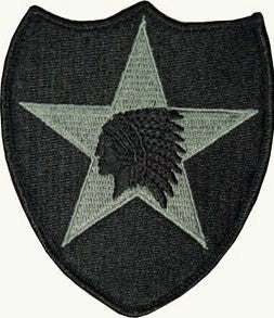 2nd Infantry Division ACU Patch with Hook Fastener - Insignia Depot