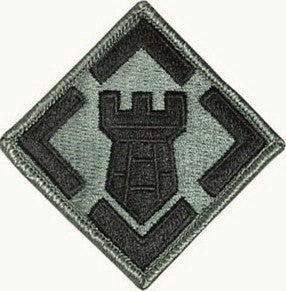 20th Engineer Brigade ACU Patch with Hook Fastener - Insignia Depot