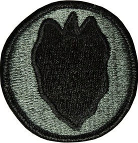 24th Infantry Division ACU Patch with Hook Fastener - Insignia Depot
