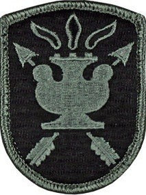 John F Kennedy JFK Special Warfare Center ACU Patch with Hook Fastener - Insignia Depot