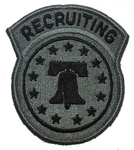 Recruiting Command US ARMY ACU Patch with Hook Fastener - Insignia Depot