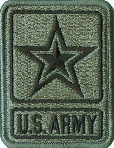 U.S. Army Star Logo (Army of 1) ACU Patch with Hook Fastener - Insignia Depot