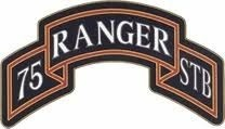 75Th Ranger Regiment Special Troops Battalion Rstb Scroll CSIB - Insignia Depot