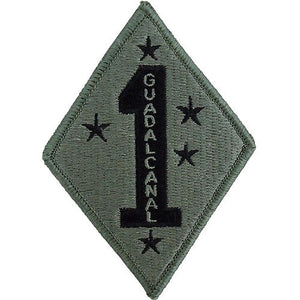 1st Marine Division ACU Patch with Hook Fastener - Insignia Depot