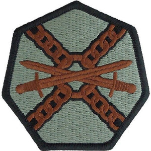 Installation Management ACU Patch with Hook Fastener - Insignia Depot