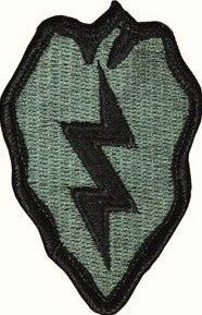 25th Infantry Division ACU Patch with Hook Fastener - Insignia Depot