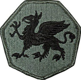108th Training Command ACU Patch with Hook Fastener - Insignia Depot