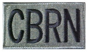 CBRN ACU Patch with Hook Fastener - Insignia Depot