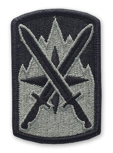 10th Sustainment Brigade ACU Patch with Hook Fastener - Insignia Depot