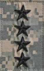 O10 General ACU with Hook Fastener - Insignia Depot