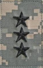 O9 Lieutenant General ACU with Hook Fastener - Insignia Depot