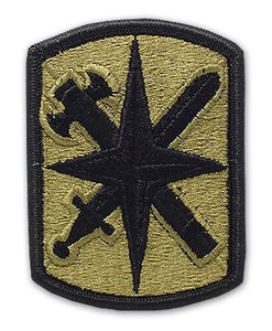 14th Military police Brigade OCP Patch with Hook Fastener (pair) - Insignia Depot