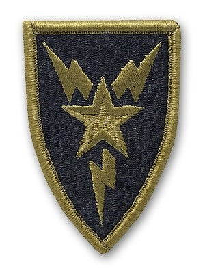 3rd Signal Brigade OCP Patch with Hook Fastener (pair) - Insignia Depot