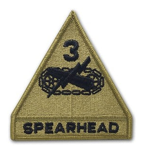 3rd Armored Division OCP Patch with Hook Fastener (pair) - Insignia Depot