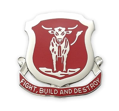 39th Engineer Battalion Unit Crest (Each) - Insignia Depot