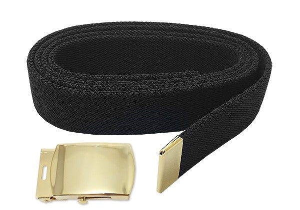 Male Army Belt and Brite Buckle and Tip - Insignia Depot